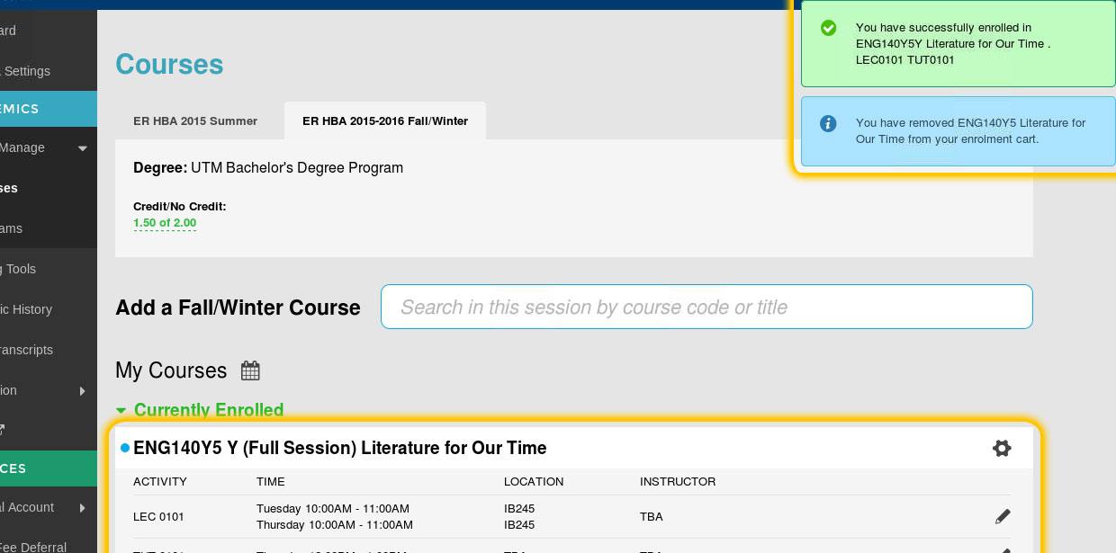 5de8cb0337834 If you have successfully enrolled in the course you will receive a success  notice on the top right corner of your screen and the course will be listed  under ...